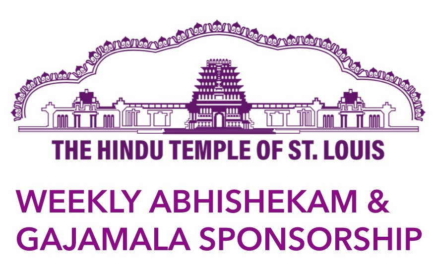 Weekly Abhishekam & Garland Sponsorship- Annual Subscription ($351 per Deity)