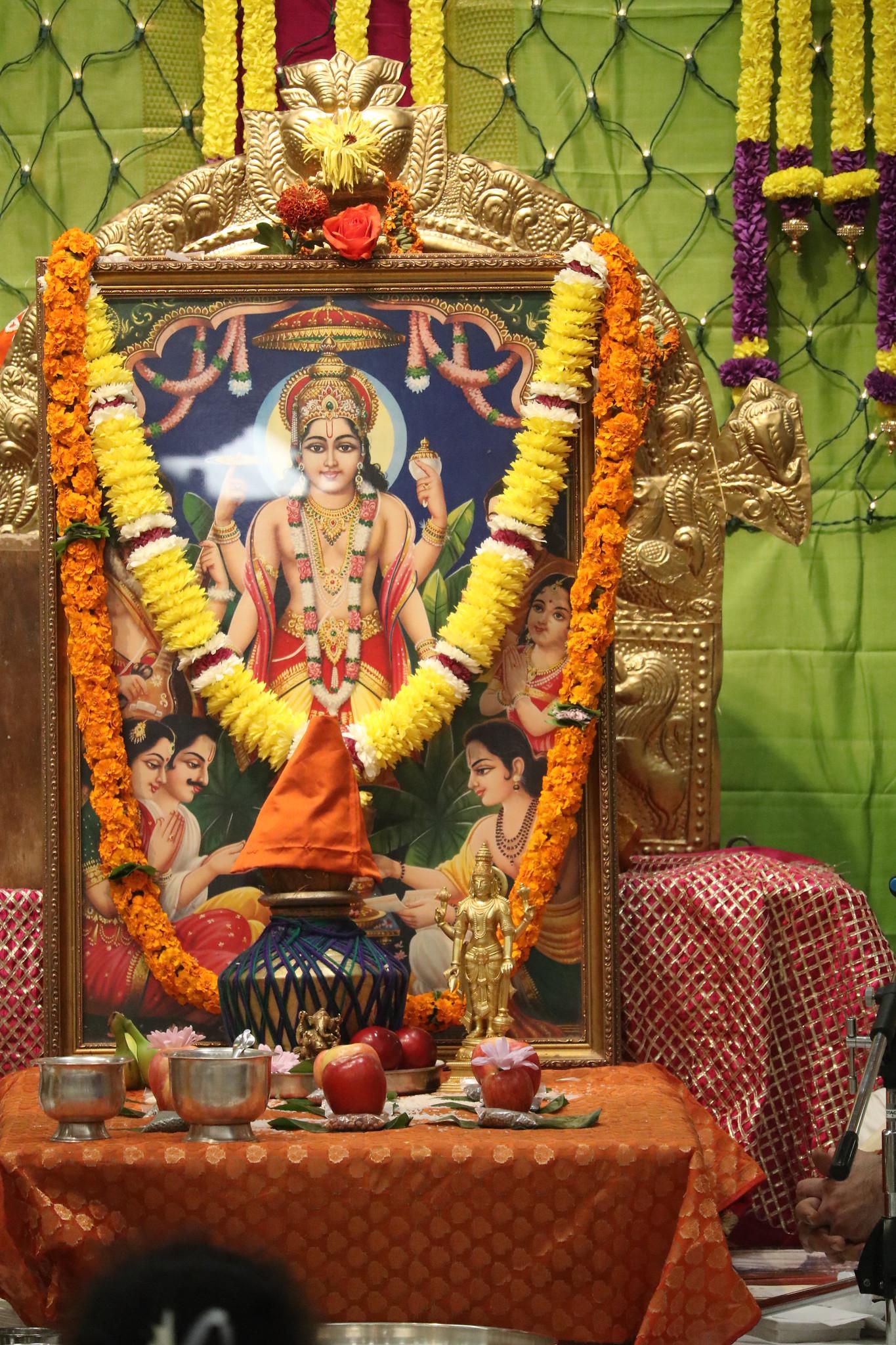 Samuhika Satyanarayan Puja