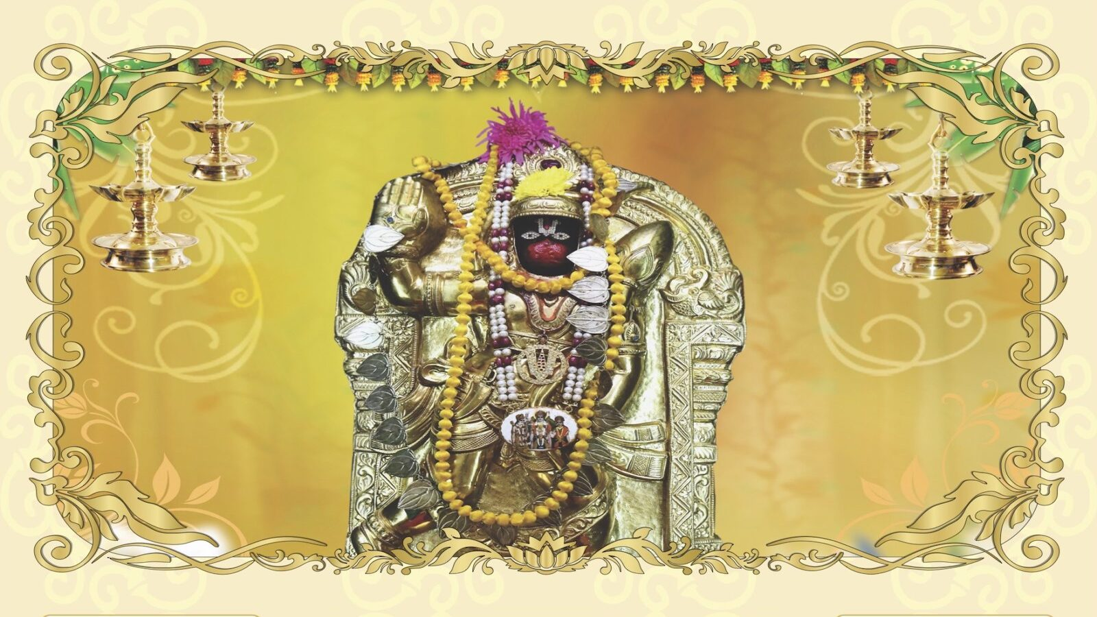 Hanuman Butter Alankaram – 02/06 @ 11 AM