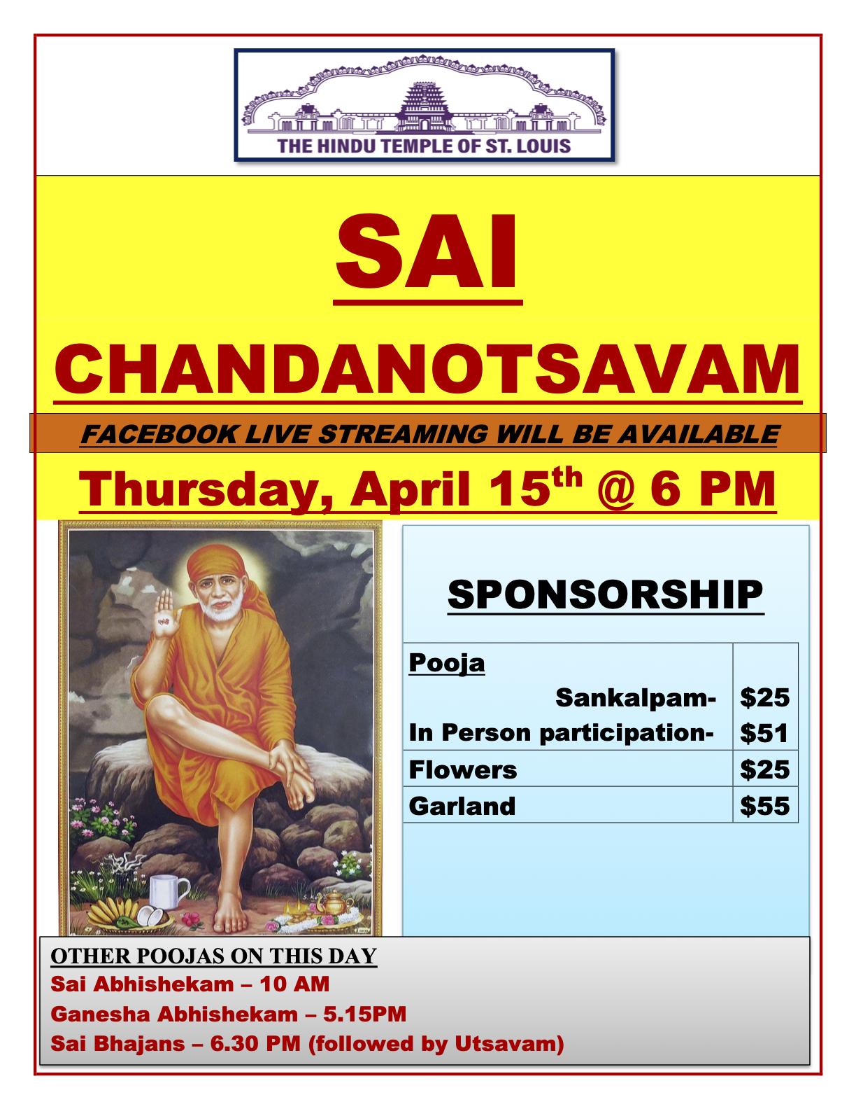 Sai Chandanotsavam