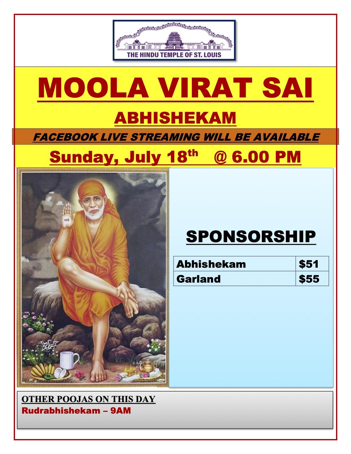 Sai Abhishekam