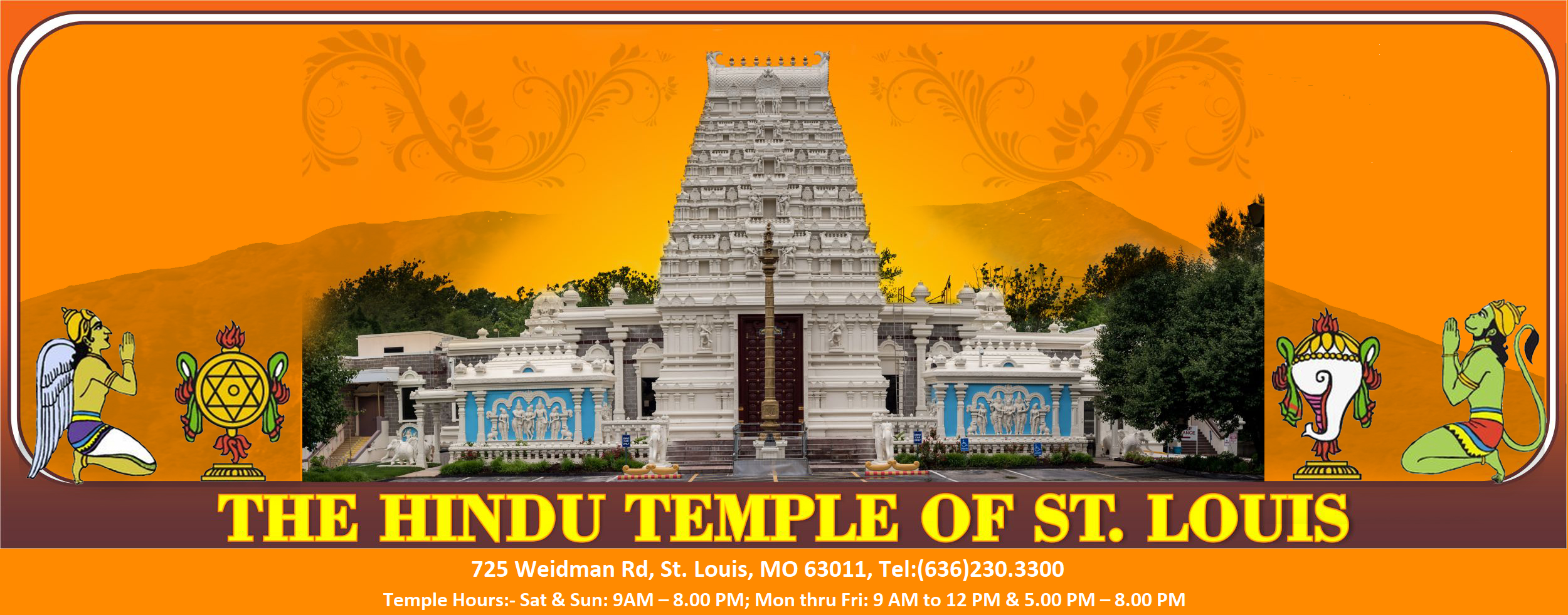 The Hindu Temple of St  Louis | A Place for worship