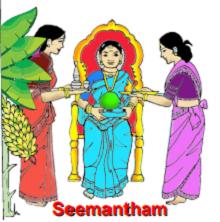 Seemantham at home by Shri Srinivasa Deevi