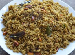 Tamarind Rice - 1/2 Tray