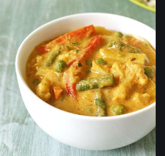 Mixed Vegetable Korma Curry
